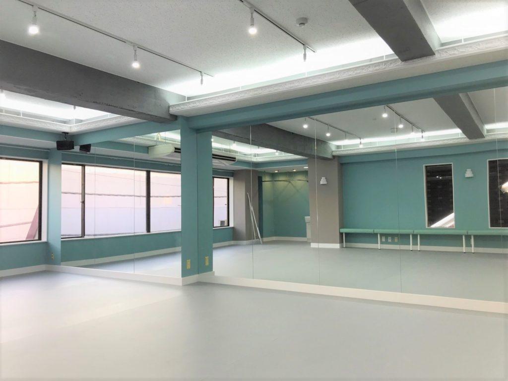 フラダンス教室 にぴったりな仙川スタジオ舞仙の内装