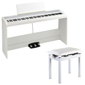 電子ピアノ KORG B2SP WH ハンマーアクション88鍵盤 ソステヌート ハーフペダル対応